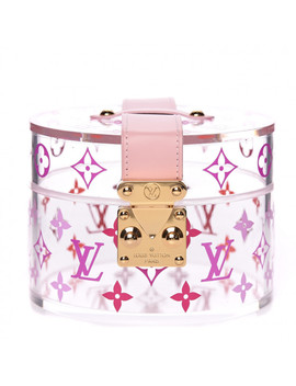Louis Vuitton Transparent Plexiglass Box Scott Pink by Louis Vuitton