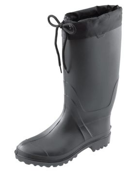 Men's Unlined Rubber Boots, Black by Canadian Tire