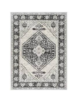 Swaney Traditional Silver Gray/Gray Area Rug by Charlton Home