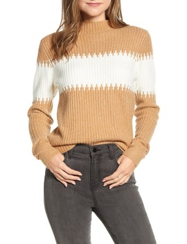 Sophia Stripe Rib Sweater by French Connection