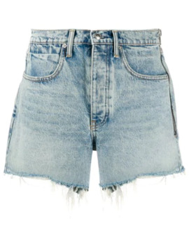 High Waisted Shorts by Alexander Wang