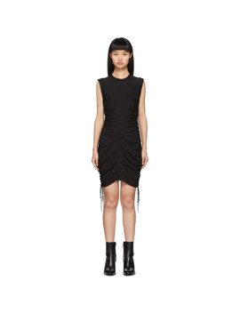 Black Wash + Go Side Tie Dress by Alexanderwang.T
