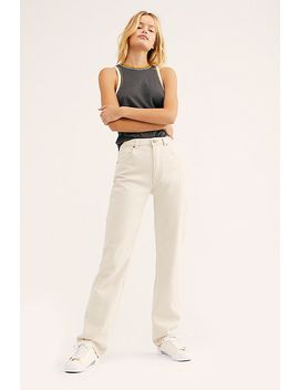 Rolla's Classic Straight Jeans by Free People