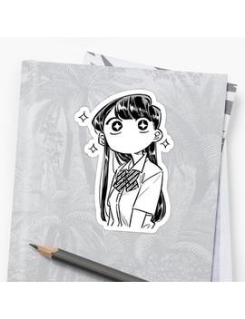 Komi San Wa Komyushou Desu Sticker by Coolsocrati