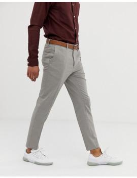 Burton Menswear Skinny Fit Trousers In Puppytooth Check by Burton Menswear London