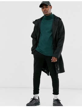 Asos Design T Shirt With 3/4 Sleeve With Roll Neck In Green by Asos Design