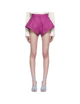 Pink 'le Short Rosa' Shorts by Jacquemus