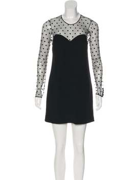 Mesh Mini Dress by Saint Laurent