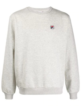 Logo Patch Sweatshirt by Fila