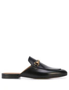 Open Heel Horsebit Loafers by Gucci