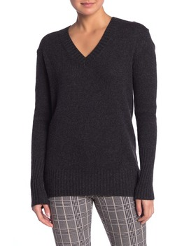 Runa Cashmere V Neck Sweater by 360 Cashmere