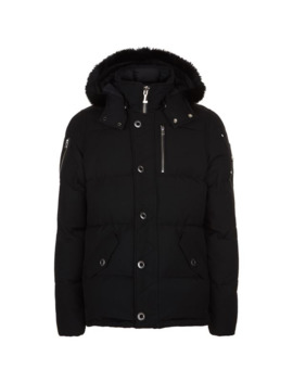 3 Q Jacket With Hood by Moose Knuckles