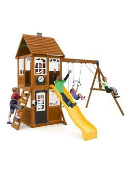 Mc Kinley Wooden Swing Set by Kid Kraft