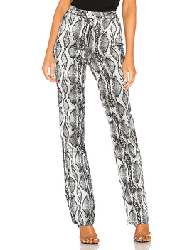 Slater Pant In Silver Snake by I.Am.Gia