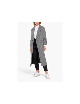 Mint Velvet Houndstooth Tailored Coat, Multi by Mint Velvet