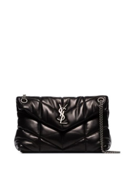 Loulou Quilted Small Shoulder Bag by Saint Laurent