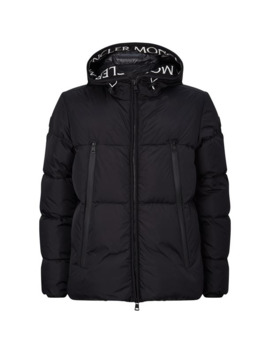 Montclar Logo Trim Quilted Down Jacket by Moncler