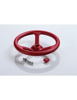 Steering Wheel  Red by Creative Cedar Designs