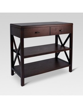Owings Console Table 2 Shelf With Drawers   Threshold™ by Threshold
