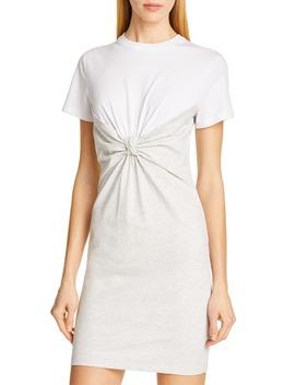 Knot Front High Twist Jersey Dress by Alexanderwang.T