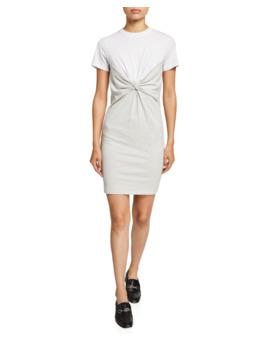 High Twist Jersey Knotted Dress by Alexanderwang.T