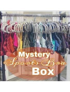 New Mystery Sports Bra Box by Poshmark
