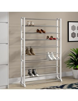 Lynk® 50 Pair Shoe Rack by Rebrilliant