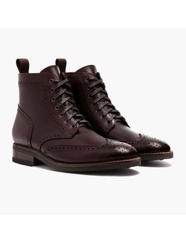 Heritage Wingtip   by Thursday Boots