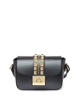 Yasmine Palmellato Leather Crossbody Bag by Valentino By Mario Valentino