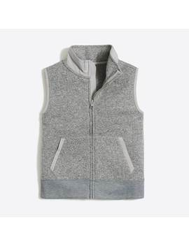 Boys' Sweater Fleece Vest by J.Crew