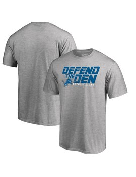 Detroit Lions Nfl Pro Line By Fanatics Branded Hometown Collection Big & Tall T Shirt   Heathered Gray by Nfl Pro Line By Fanatics Branded