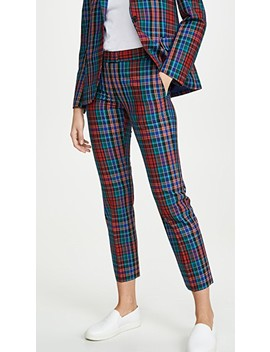 Plaid Trousers by Paul Smith