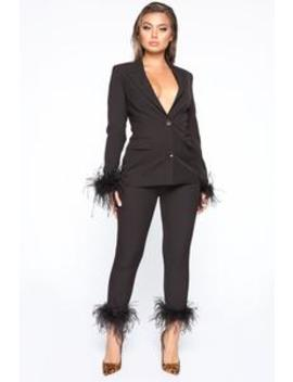 Midnight Dream Suit Set   Black by Fashion Nova
