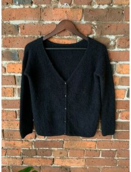Sezane Sweater, Xs, Black, Good Used Condition. by Sezane
