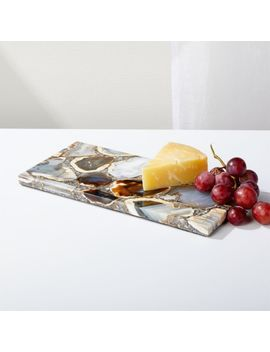 Agate Serving Board by Crate&Barrel
