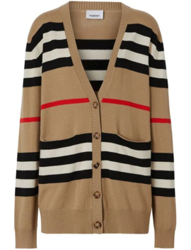 Striped Cardigan by Burberry