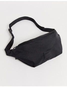 Asos Design Fanny Pack In Black With Puller by Asos Design