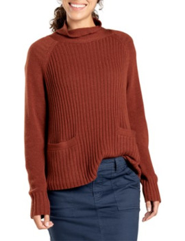 Toad&Co Clementine Mockneck Sweater   Women's by Toad&Co