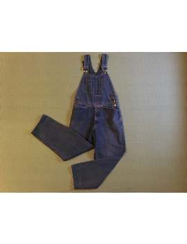 1990's, Baggy, Girbaud Overalls, In Indigo, Women's Size Small by Etsy