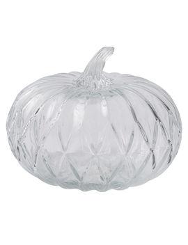 7 In. Clear Glass Pumpkin7 In. Clear Glass Pumpkin by At Home