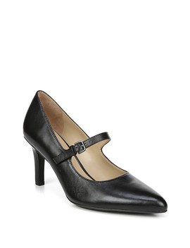 Elora Mary Jane Heeled Pump   Wide Width Available by Naturalizer