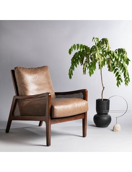Pohl Wood Frame Armchair by Birch Lane