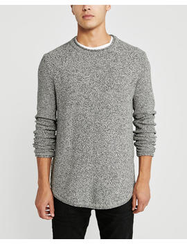 Curved Hem Sweater by Abercrombie & Fitch