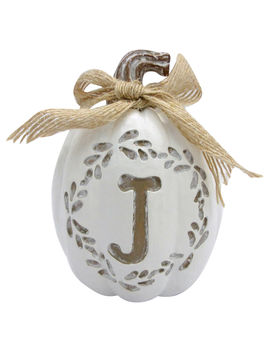 4 In. Monogrampumpkin J4 In. Monogrampumpkin J by At Home