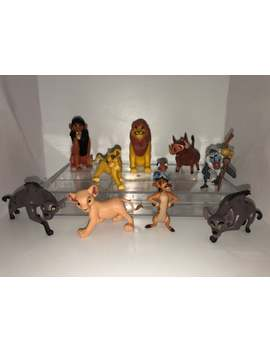 Mister A Gift Disneys Lion King Set Of 10 Plastic Cake Toppers by Etsy