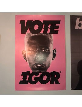 Vote Igor Golf Posterpreowned/Used by Golf Wang