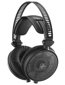 Echnica   Ath R70x Wired Open Back Reference Headphones   Black by Audi