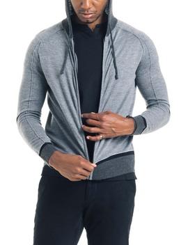 Modern Slim Fit Merino Wool Hoodie by Good Man Brand