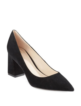 Suede Block Heels by Marc Fisher Ltd
