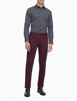 New Essentials Slim Fit 5 Pocket Pants by Calvin Klein